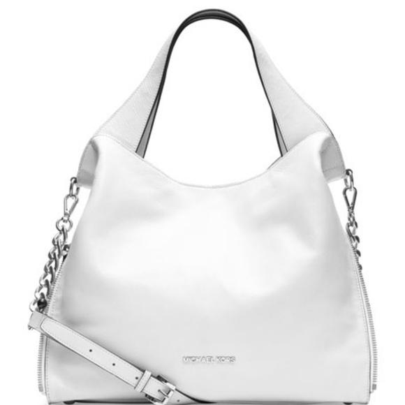22b2fdc85f29 Michael Kors Bags | Nwt Devon Shoulder Tote Leather | Poshmark
